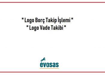 logo borç takip işlemi