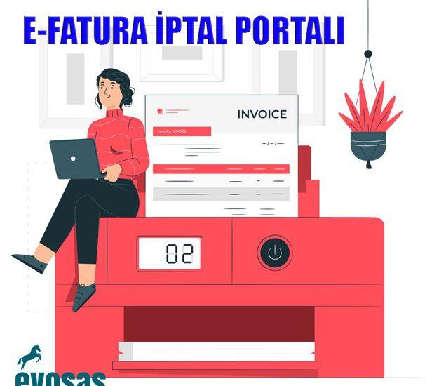 e-fatura iptal portalı
