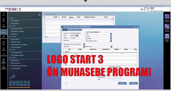 logo start3 ön muhasebe programı,logo start 3 fiyatı, logo start 3 devir işlemi, logo ön muhasebe programı
