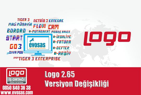Logo 2.65 Versiyon Değişikliği