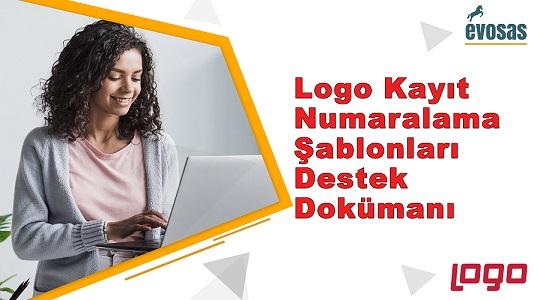 Logo Kayıt Numaralama Şablonları Destek Dokümanı