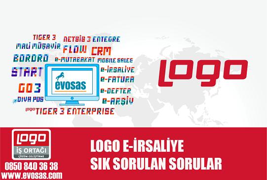 logo e-irsaliye sık sorulab sorular,logo e-irsaliye, www.evosas.com